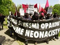 Anarquistas en Brno, foto: CTK