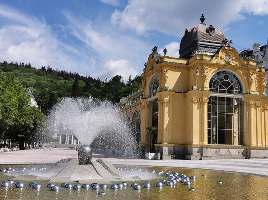Singende Fontäne in Marienbad (Foto: Klára Stejskalová)