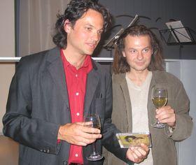 Jiri Bárta (de izquierda) y Jan Cech