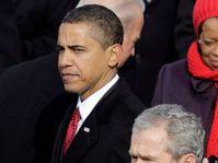 Barack Obama, George Bush (Foto: CTK)