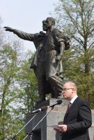 Bohuslav Sobotka à Ostrava, photo: ČTK