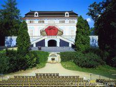 Вращающийся театр из парка замкового комплекса в Чешском Крумлове (Фото: CzechTourism)