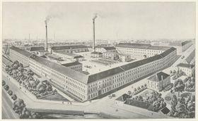 Textilfabrik von Johann Heinrich Offermann (Foto: Archiv der Stadt Brünn)