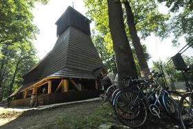 Wooden church in Třinec-Guty, photo: CTK