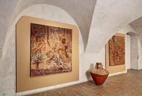 Картина Отто Плахта, Фото: Либор Свачек / Архив Художественного центра Эгона Шиле