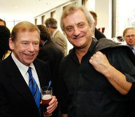 Вацлав Гавел и Боржек Шипек (Фото: ЧТК