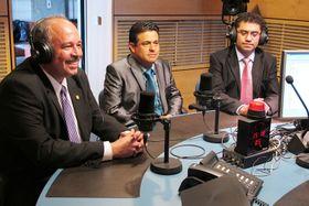 Álvaro Dubon, Jim Jui, Oscar García, foto: Kristýna Maková