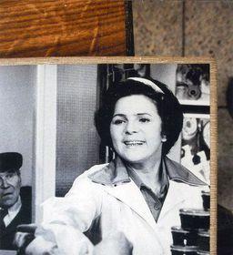 Jiřina Švorcová in 'A Woman Behind the Counter'