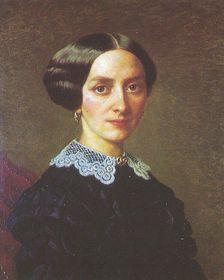 Kateřina Smetanová, rozená Kolářová (Foto: obraz J. P. Södermarka, 1858, volné dílo)