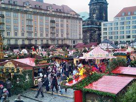 Dresdner Striezelmarkt (Foto: Andreas Metallerreni, Pixabay / CC0)