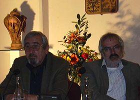 Jan Krčmář, links (Foto: Autor)
