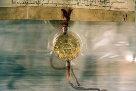 Золотая була 1356 г., Фото: Роберт Миколаш, Чешское радио