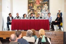 Tisková konference kpředstavení připravovaného filmu Il Boemo, foto: Petra Hajská, archiv Pilot Film