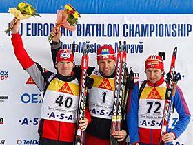 Michal Šlesingr (a la izquierda) Foto: CTK