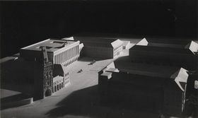 Модель концертного зала, который нацисты хотели возвести на месте Муниципального дома, Фото: Архив пражской мэрии