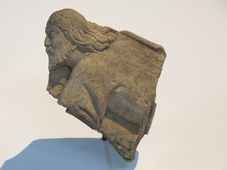 Fragment des Christuskopfes (Foto: Martina Schneibergová)