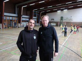 Johan Cheikh et Andrew Argent, photo: Martin Fort