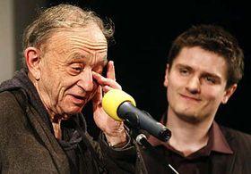 Frederick Wiseman with Marek Hovorka, photo: CTK