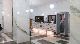 Преображение холла главного здания сегодня. Фото: Ленка Жижкова