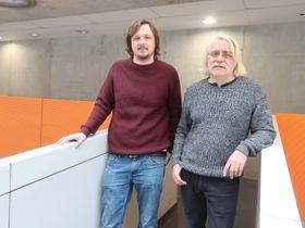 историк Ян Дворжак и Ярослав Форманек, фото: Барбора Немцова