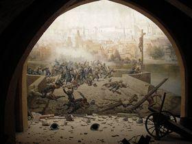 «Битва студентов со шведами на Карловом мосту в 1648 году», фото: Петри Крон, Wikimedia Commons, CC BY-SA 3.0