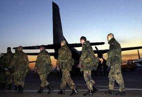 Alemán unidad militar en Afganistán, Foto: CTK