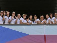 L'équipe féminine de basketball, photo: CTK