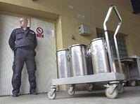 Mesures de sécurité à l'hôpital universitaire pragois Bulovka, photo: CTK