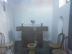 Interiér kaple sv. Václava vPraze-Troji, foto: Zdeňka Kuchyňová