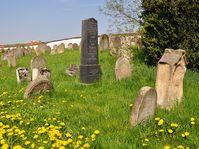 Židovský hřbitov ve Spáleném Poříčí, foto: Jirka Dl, CC BY 3.0 Unported