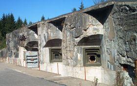 Grenzbefestigung der Ersten Tschechoslowakischen Republik - Festung Hanička im Adlergebirge