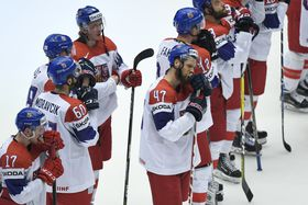 Czech hockey team, photo: ČTK/Deml Ondřej