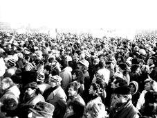 Im November 1989 demonstrierten viele Hunderttausend Menschen auf der Letná-Anhöhe in Prag für den politischen Wandel (Foto: ŠJů, Wikimedia Commons, CC BY-SA 3.0)