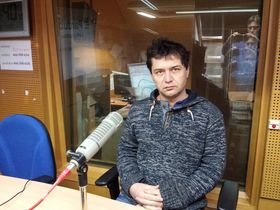 журналист «Чешского Радио» Томаш Влах, фото: Милан Косина, Архив Чешского Радио