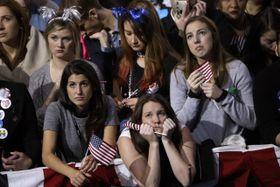 Los seguidores de Hillary Clinton, foto: ČTK