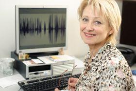 Ľubica Svárovská (Foto: Khalil Baalbaki, Archiv des Tschechischen Rundfunks)