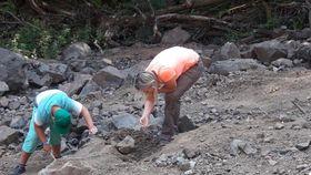 La búsqueda de piedras preciosas en Kozákov, foto: Dominika Bernáthová