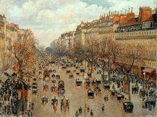 Camille Pissarro, Boulevard Montmartre, 1897, photo: Public Domain