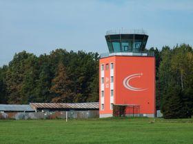 L'aéroport de České Budějovice, photo: Jitka Erbenová, CC BY-SA 3.0