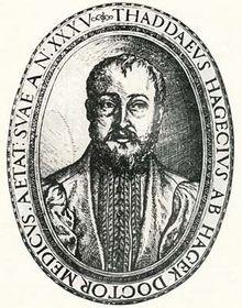 Tadeáš Hájek, médico de Rodolfo II
