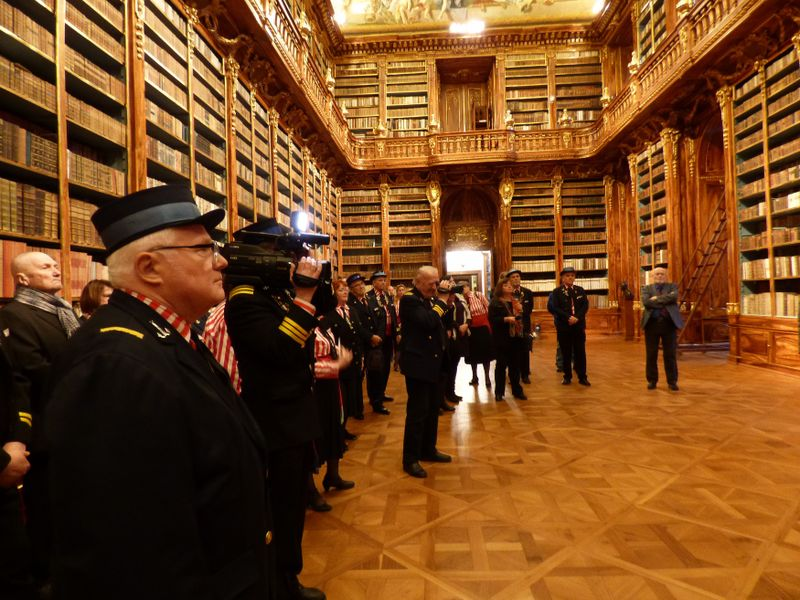 La bibliothèque du monastère de Strahov, photo: Ladislava Doubravová