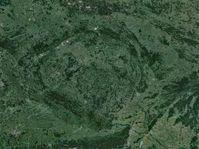 ´Český kráter´, foto: Google Maps