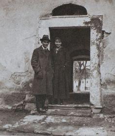 Franz Kafka mit seiner Schwester Ottla in Siřem (Foto: Galerie Franze Kafky v Siřemi)