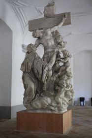 Hl. Luitgard-Statue von der Karlsbrücke (Foto: Martina Schneibergová)