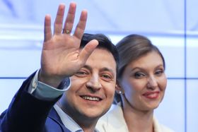 Volodymyr Zelensky, photo: ČTK/AP/Vadim Gchirda