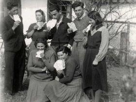Jewish teenagers from Czechoslovakia in Denmark in 1939, photo: archive of Judita Matyášová