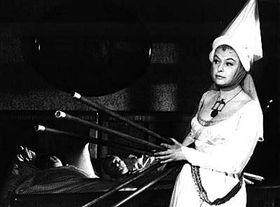 La Dama de blanco en la homónima película