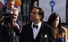 Andy Garcia with his doughter, photo: CTK