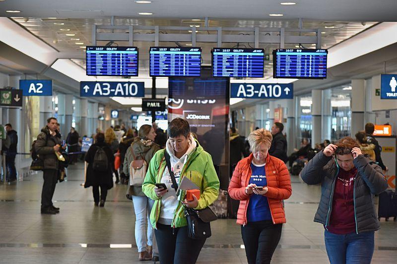 Prague Airport, photo: Ondřej Tomšů