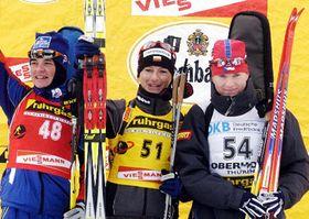 Sylvie Becaert, Jekaterina Dafovska and Katerina Holubcova, photo: CTK